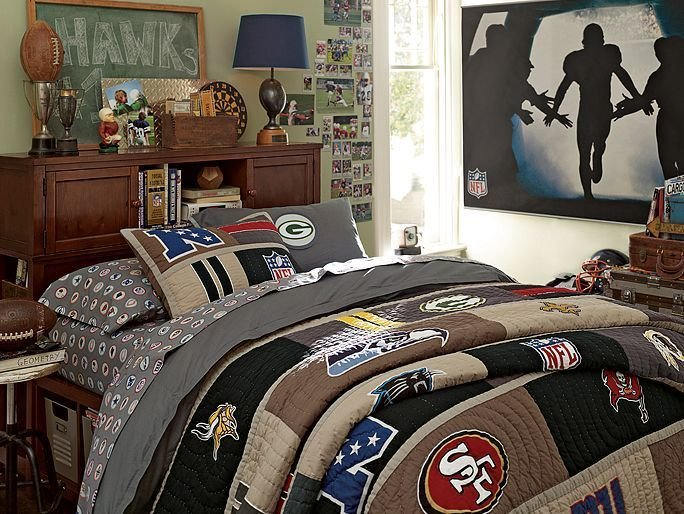 Best I Love The Pbteen Nfl Beadboard Bedroom On Pbteen Com My With Pictures