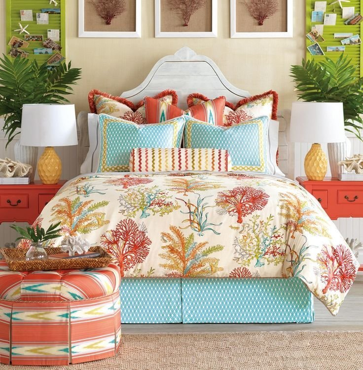 Best 25 Best Ideas About Coral And Turquoise Bedding On With Pictures