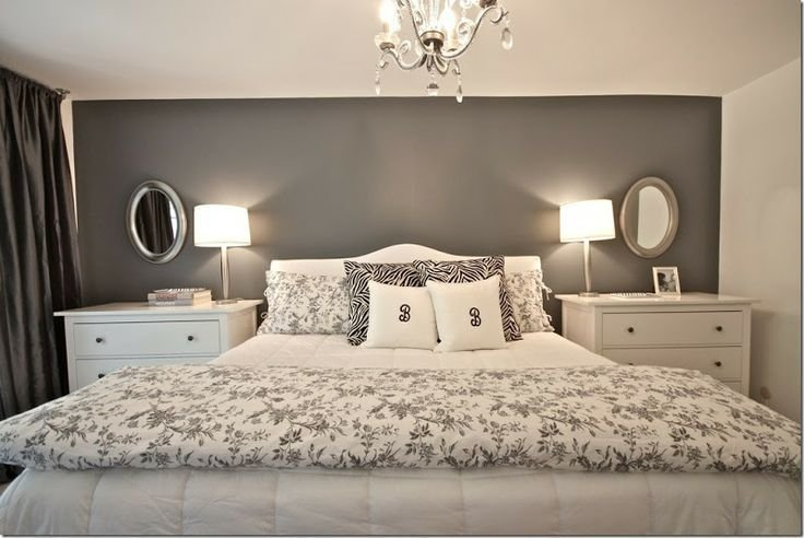 Best Dark Grey Bedroom Walls Before The Master Bedroom Was A With Pictures