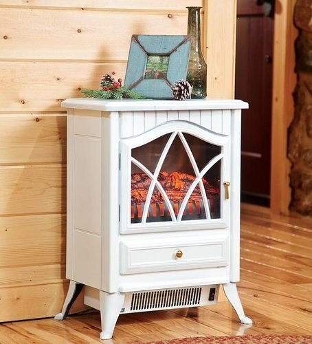 Best Compact Electric Portable White Fire Place Fireplace With Pictures