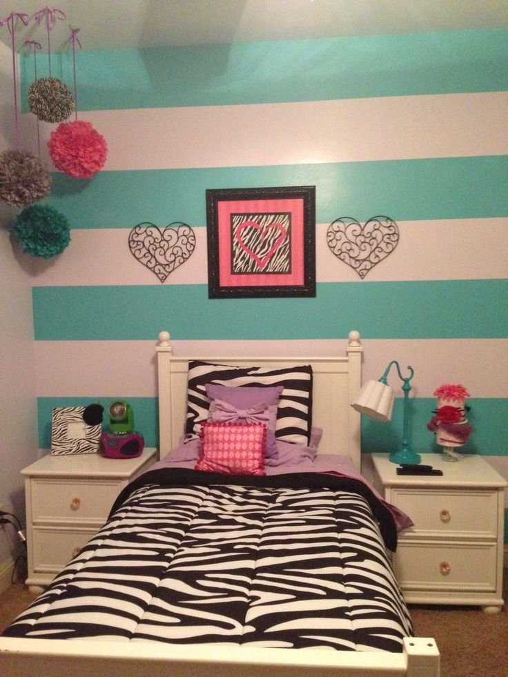 Best 17 Best Ideas About Pink Striped Walls On Pinterest Girls Bedroom Apartment Bedroom Decor And With Pictures