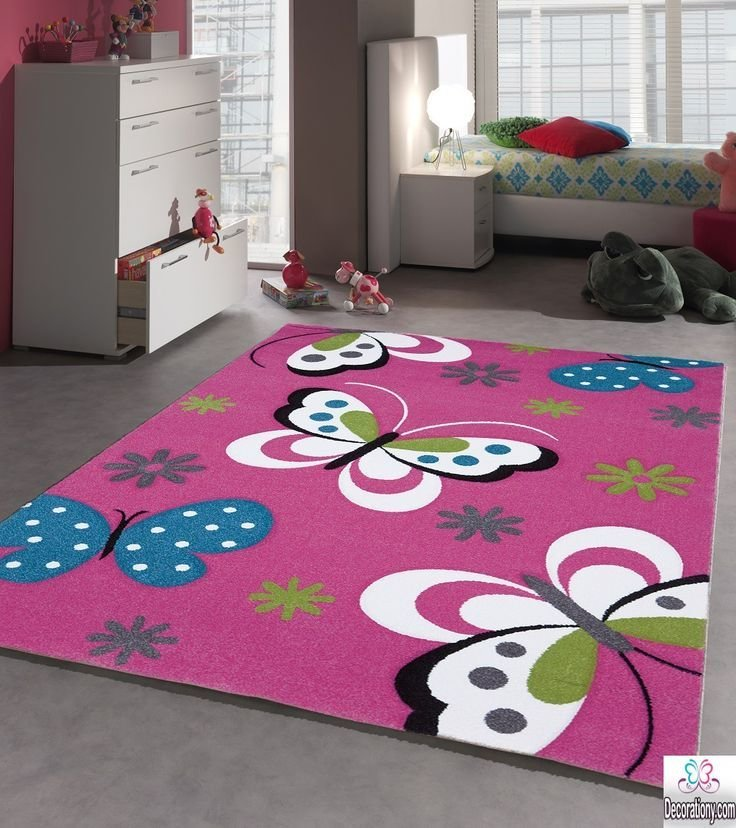 Best Area Rugs For Kids 30 Adorable Area Rugs For Girls Bedroom With Pictures