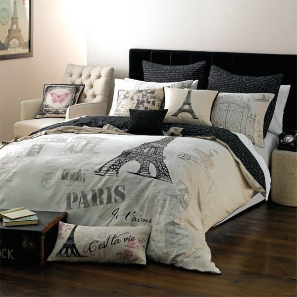 Best Paris Themed Bedding For Adults Trend Alert Chic With Pictures