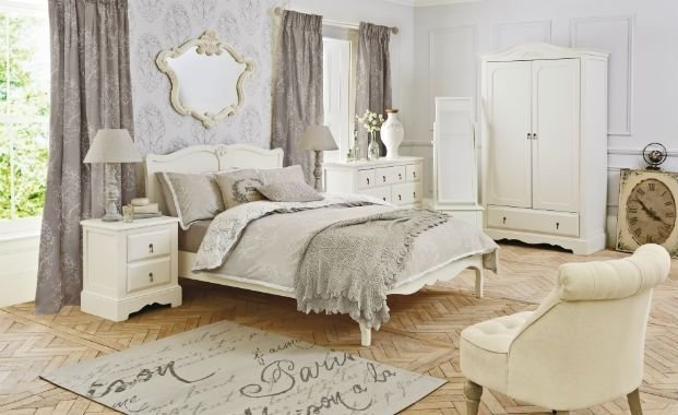 Best Shabby Grey Bedrooms Interior Shabby Chic Bedroom With Pictures