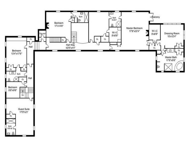Best Awesome L Shaped House Plans With Simple Open Floor Plans With Pictures
