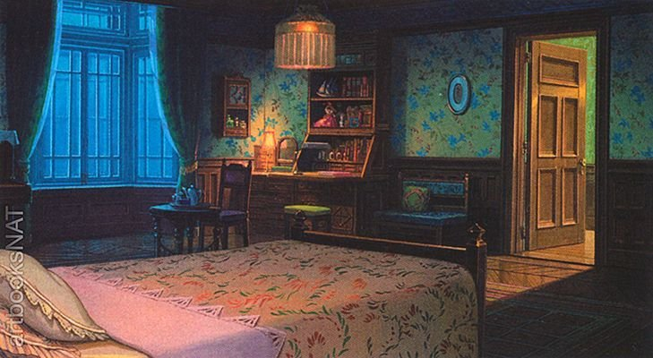 Best Artbooksnat Background Art From The Studio Ghibli Film With Pictures