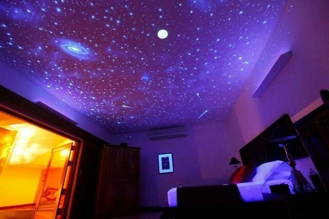 Best Cool Ceiling Galaxy Painting Art Pinterest Be Cool With Pictures