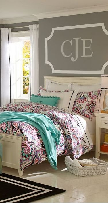Best Rockin Paisley Duvet Cover Kids Bedrooms Girls With Pictures