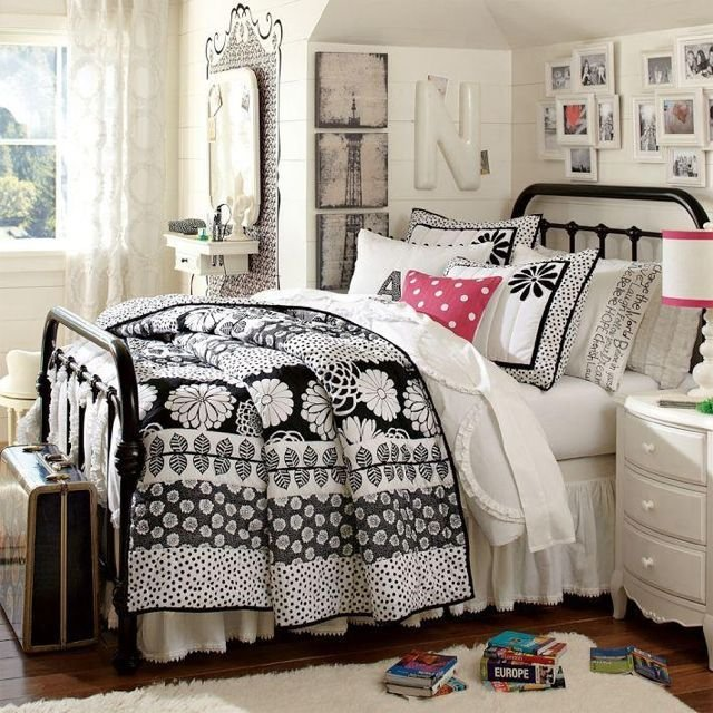 Best Pottery Barn T**N Girls Bed Room Cute Room Ideas With Pictures