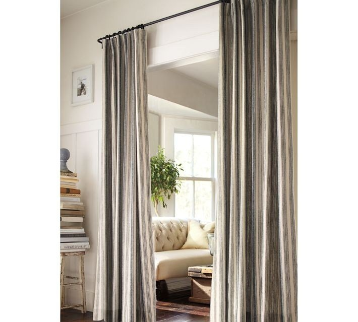 Best Curtain As Bathroom Door Since The Master Bath Has No With Pictures