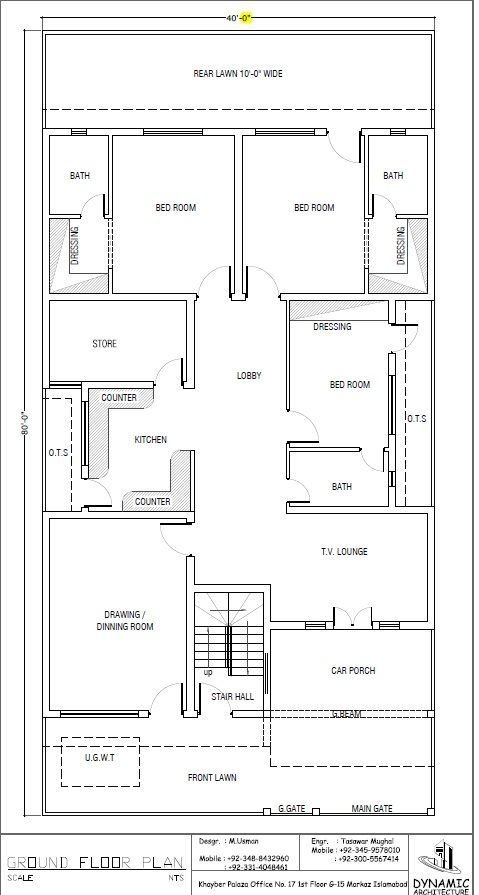 Best House Plan Drawing 40X80 Islamabad Design Project Pinterest House Plans Drawings And House With Pictures