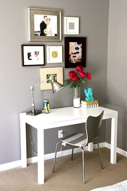 Best Cute Desk Setup Exactly What I Am Aiming For Livingroom Decor Pinterest Simple With Pictures