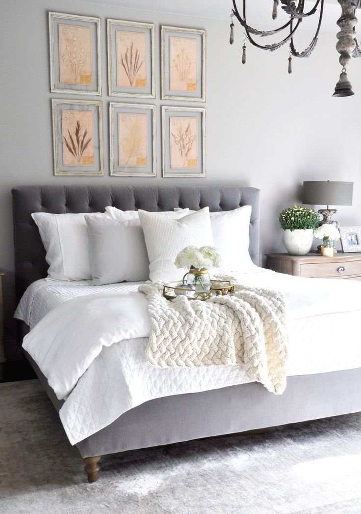 Best 20 Grey Tufted Headboard Ideas On Pinterest Cozy With Pictures