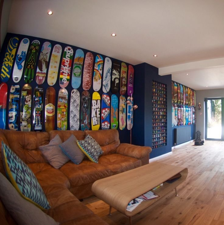 Best 53 Best Images About Skateboard Decor In Bedroom Office With Pictures