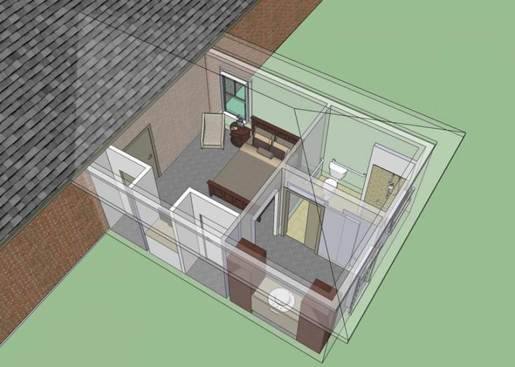 Best 653681 Wheelchair Accessible Mother In Law Bedroom With Pictures