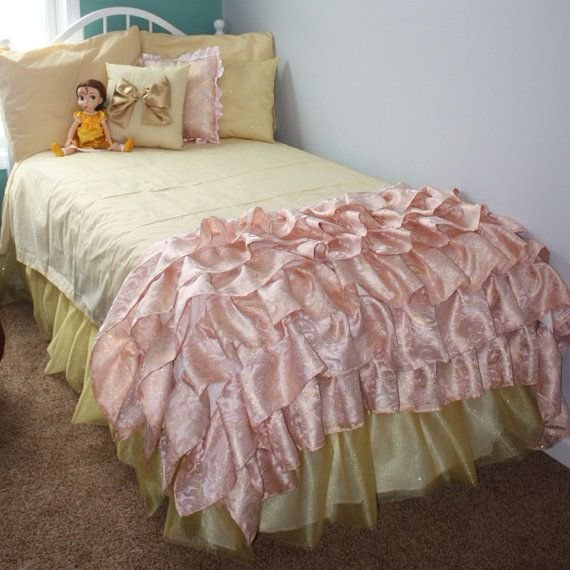 Best Disney Princess Belle Inspired Room On Etsy Bedroom With Pictures