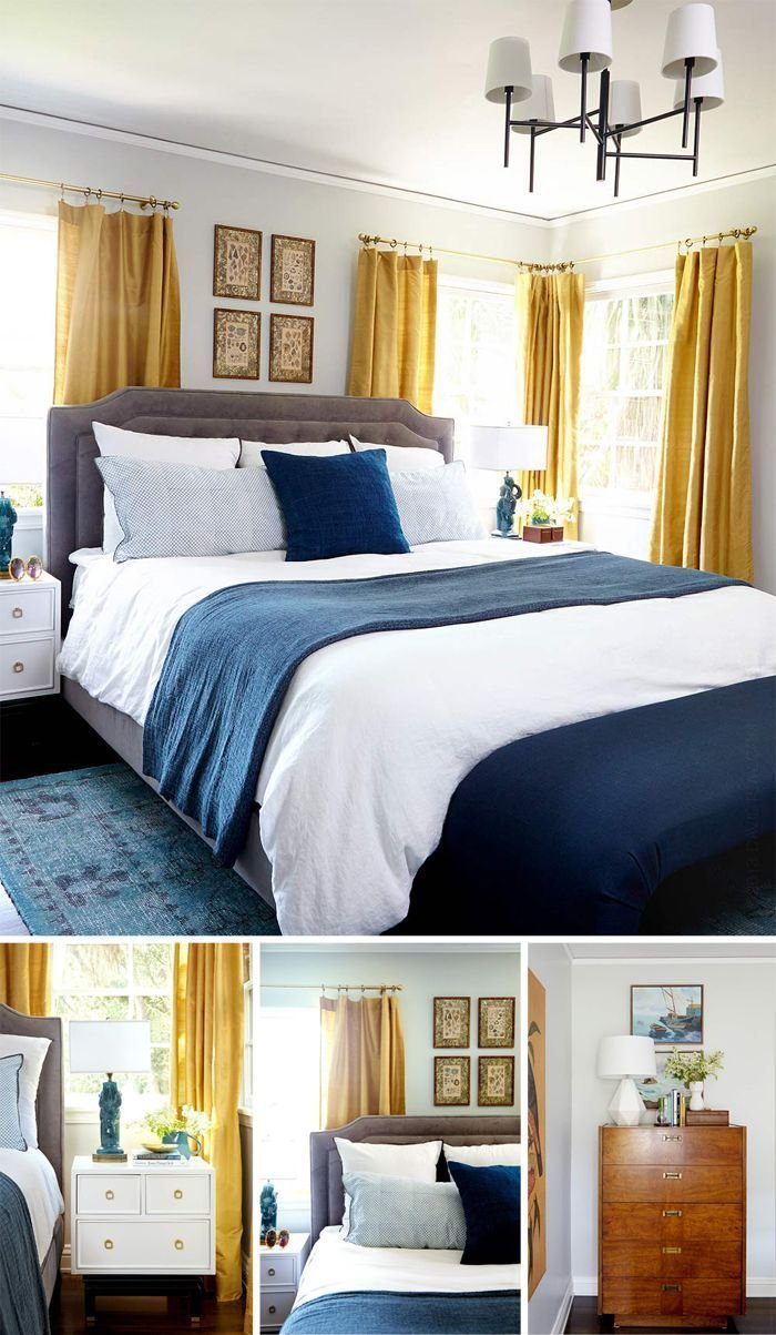 Best 17 Best Ideas About Navy Yellow Bedrooms On Pinterest With Pictures