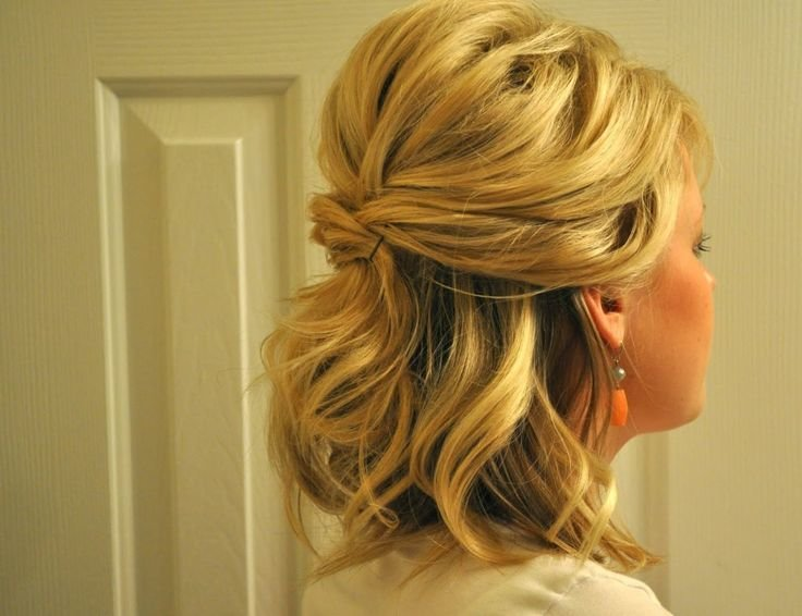 Free Hairstyles For Curly Hair Half Up Half Down Prom Wallpaper
