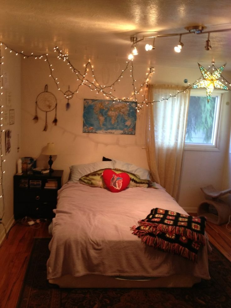 Best T**N Bedroom Lights Fairy Lights And Lights Tumblr On Pinterest With Pictures