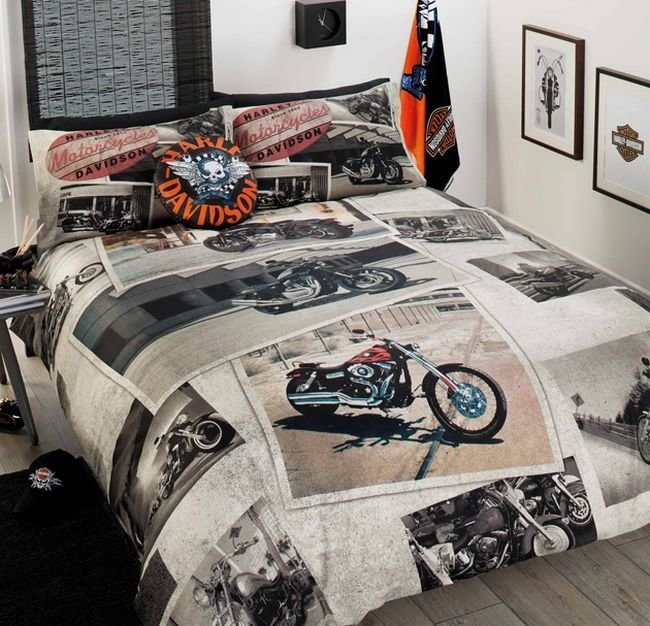 Best Harley Davidson Bedroom Decor Harley Pinterest Ideas With Pictures
