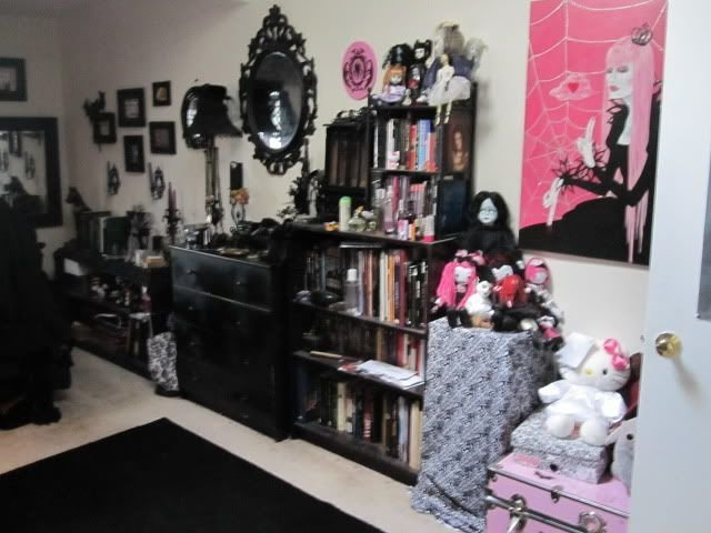 Best A Goth S Bedroom Home Pinterest Light Walls Pastel And Furniture With Pictures