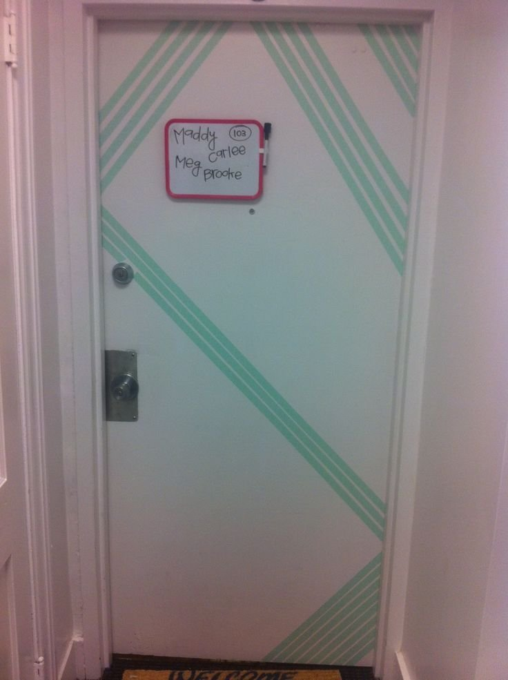 Best 10 Washi Tape Door Ideas On Pinterest Bedroom Door Decorations Washi Tape Wall And With Pictures