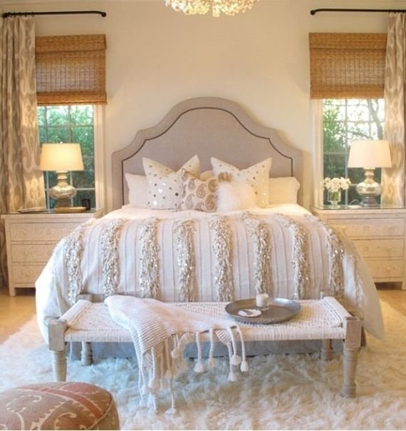 Best 43 Best Images About Silver And Gold Bedroom On Pinterest With Pictures
