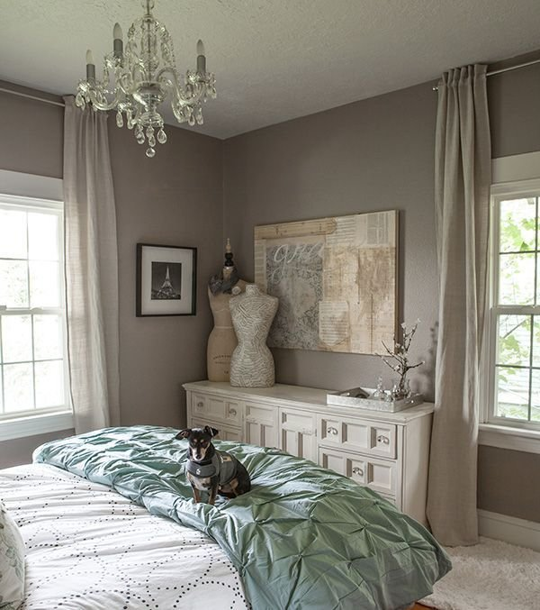 Best West Elm Bedroom Gray Grey Calm Cozy Lia Griffith Pintuck With Pictures