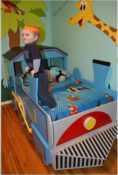 Best 25 Train Bed Ideas On Pinterest Boys Train Room With Pictures