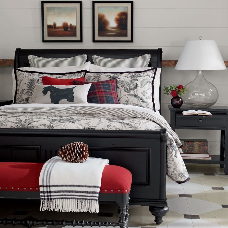 Best Ethan Allen Towson Vintage Country Bedroom Black And With Pictures