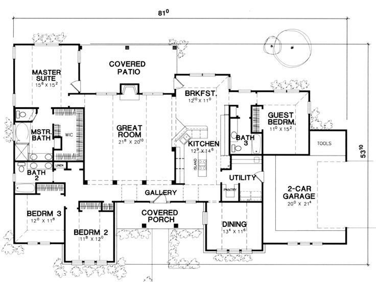 Best Floor Plan Single Story This Is It Extend The Dining Room And Washroom Make The 4Th Bedroom With Pictures