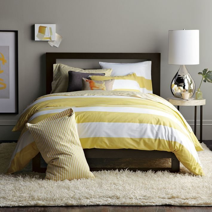 Best Coventry Gray Nest Pinterest Yellow Stripes With Pictures