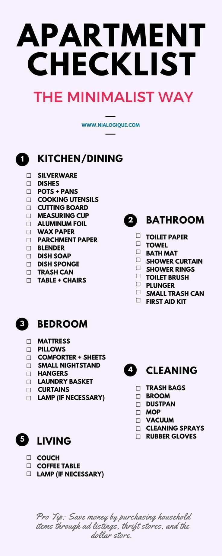 Best 25 Best Ideas About First Apartment Checklist On With Pictures