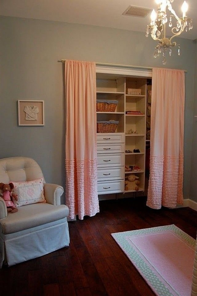 Best 17 Best Ideas About Closet Door Curtains On Pinterest With Pictures
