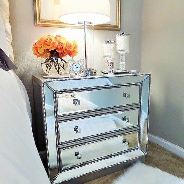 Best 20 Mirrored Nightstand Ideas On Pinterest With Pictures