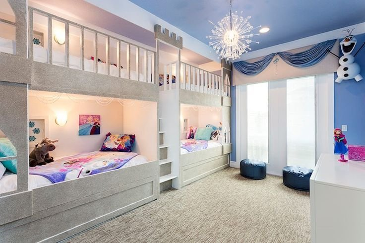 Best Frozen Themed Room Reunion Resort Villa Orlando With Pictures