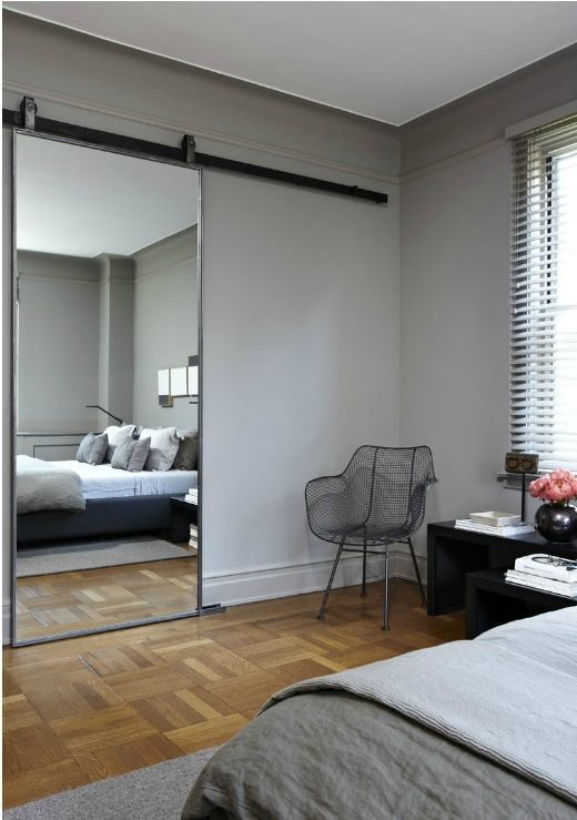 Best 1000 Ideas About Mirror Door On Pinterest Sliding Doors Master Closet Design And Interior With Pictures