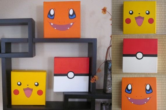 Best Choose 1 Pokemon Inspired Painting On Etsy 15 00 With Pictures