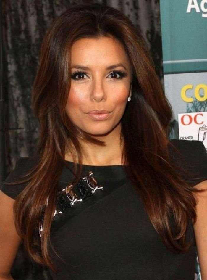 Free Rich Brown Hair Eva Longoria Hair Styles I Wallpaper