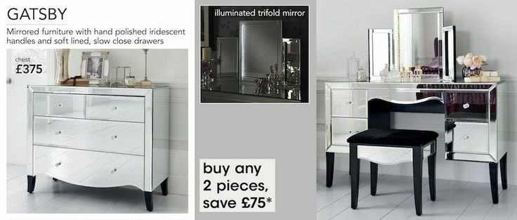 Best Next Gatsby Mirrored Furniture Range Bedroom Accessories With Pictures