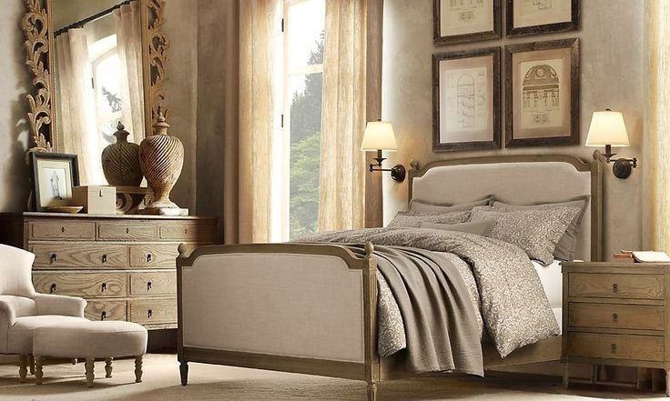 Best Restoration Hardware Vienne Bed Vienne Panel Queen Bed With Pictures