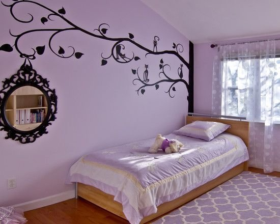 Best Bedroom Wonderful Purple Teenage Room For Girls With With Pictures