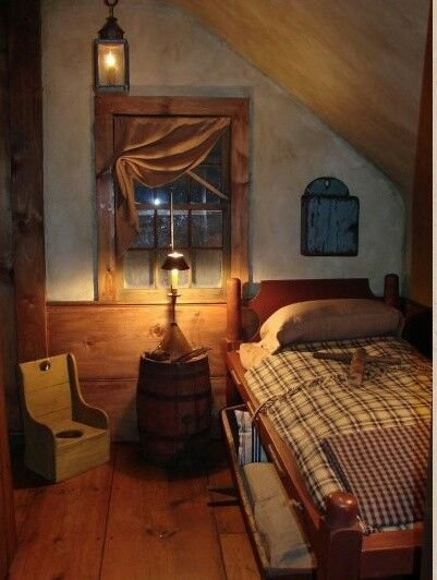 Best Looks Like An Old Attic Bedroom Primitive Decor ♥ It With Pictures