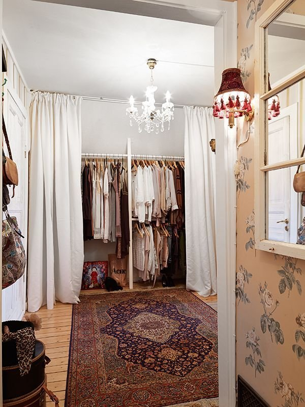 Best 20 Curtain Closet Ideas On Pinterest Cheap Window Treatments Closet Door Curtains And With Pictures