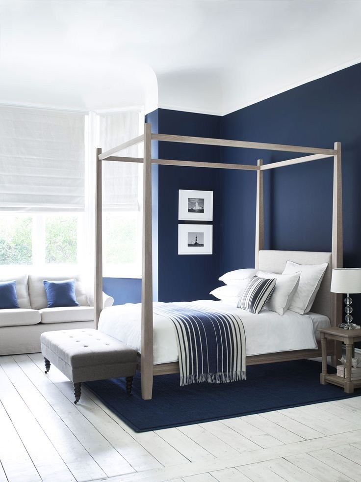Best 25 Dark Blue Bedrooms Ideas On Pinterest Navy With Pictures