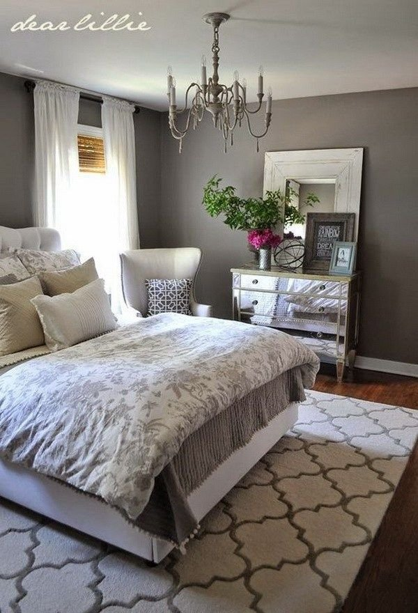 Best Master Bedroom Paint Color Ideas—Gray Master Bedrooms With Pictures