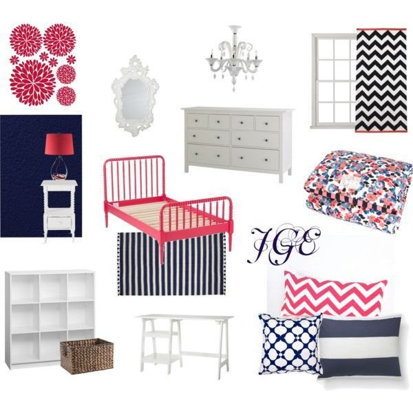 Best 18 Best Beach Coral Navy Bedroom Images On Pinterest With Pictures