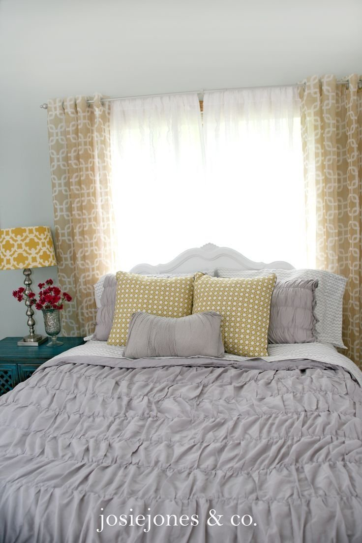 Best 191 Best Images About Yellow Gray Bedroom Inspiration On Pinterest Diy Headboards Master With Pictures