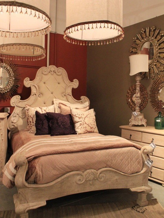Best Mediterranean Bedroom Canopy Bed Design Pictures Remodel With Pictures