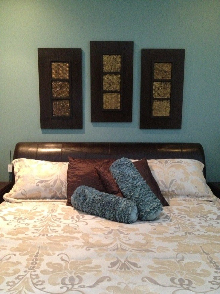 Best 17 Best Images About Home Bedroom Teal Brown Gold With Pictures